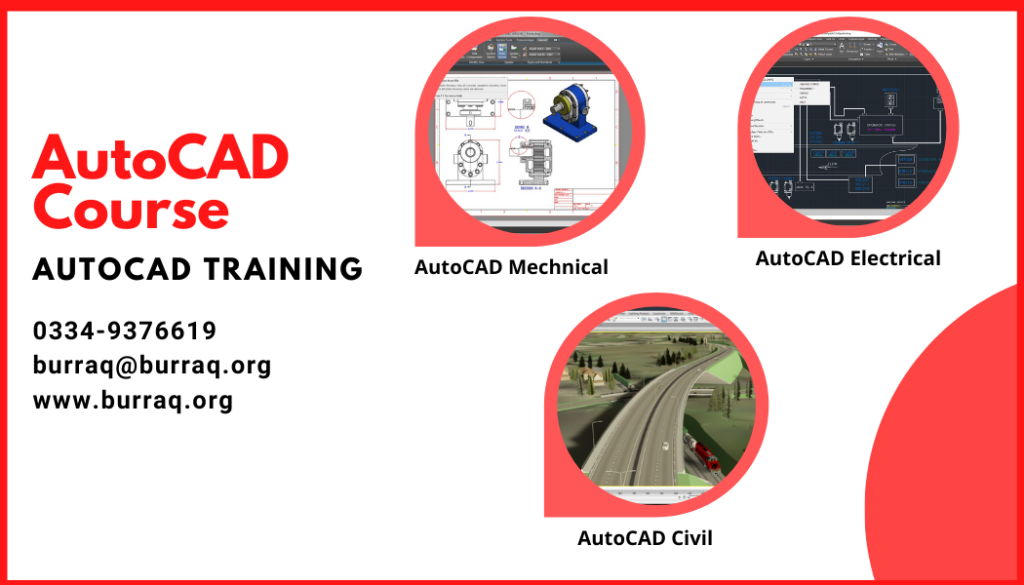 Autocad Course in Lahore  [Latest| - Burraq.org