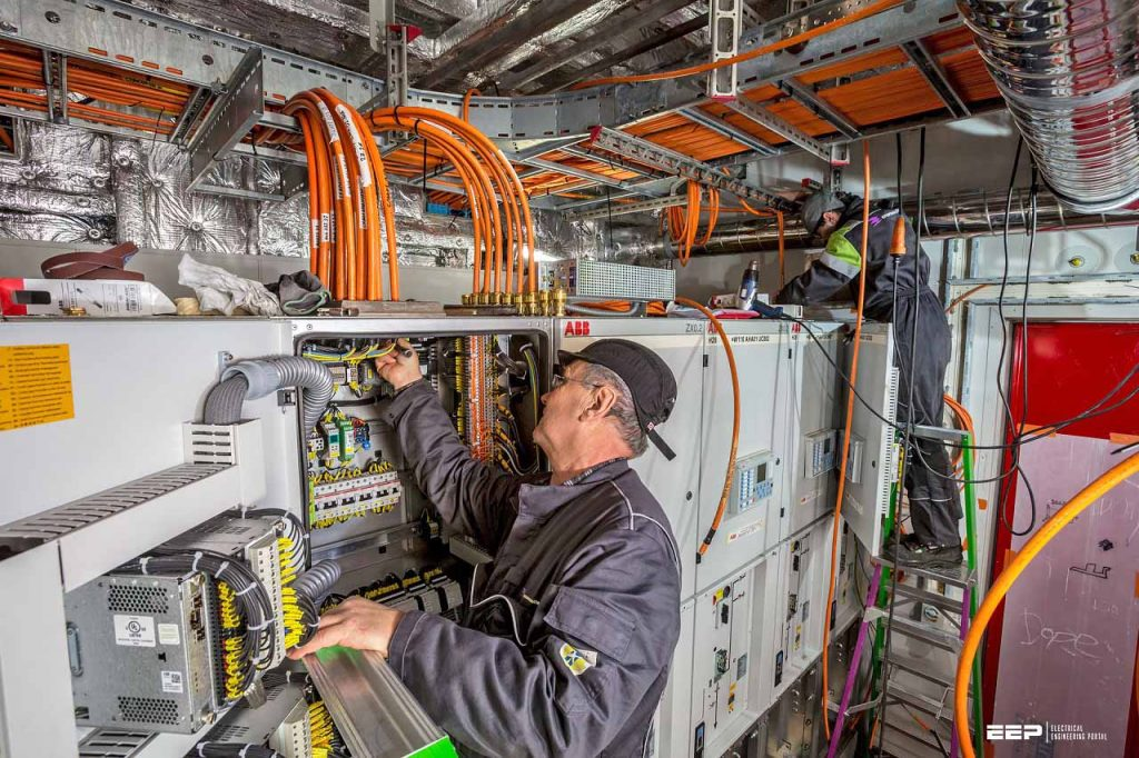 commissioning of electrical equipment