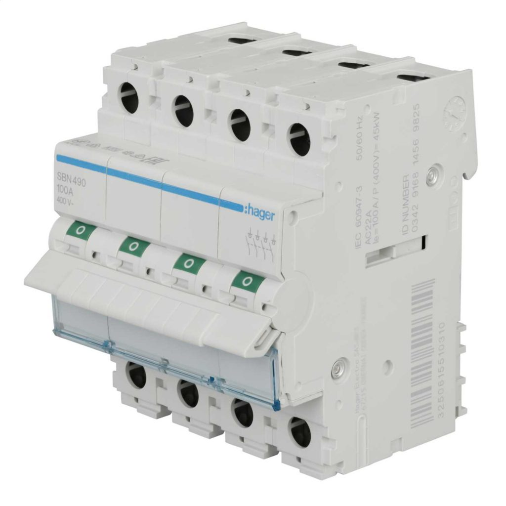 4-pole switching devices